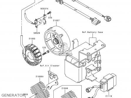 1996 Kawasaki Bayou 300 Wiring Diagram Kawasaki KZ1000