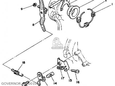 Arm, Governor Ef1800 Ef2600 Ef1200 Generator 7A91192401