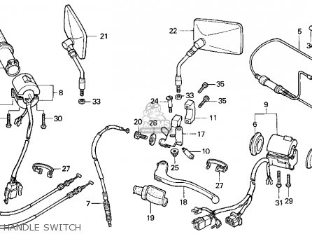 Wiring Diagram For Honda Vt500c Honda Vtx 1300R Wiring