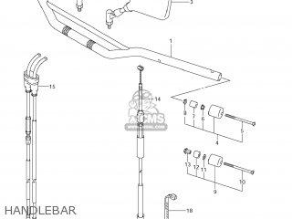 MIRROR ASSY,RR VIEW,L for DR-Z400SM 2009 (K9) USA (E03