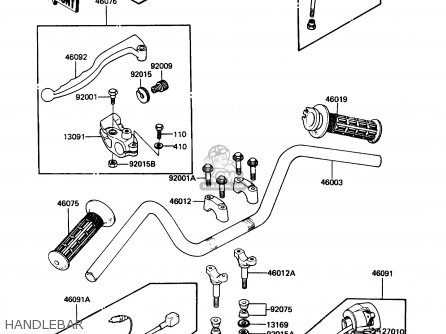 Kawasaki Kx 60 Engine Diagram Kawasaki 60 Dirt Bike Wiring