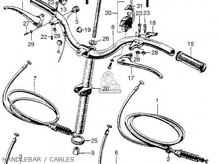 (53141098000) Pipe,grip,throttl P50 Little Honda General