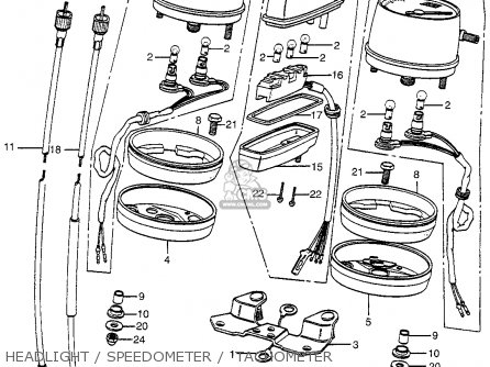 1974 Honda Cb360 Schematic 1974 Honda CL360 Wiring Diagram