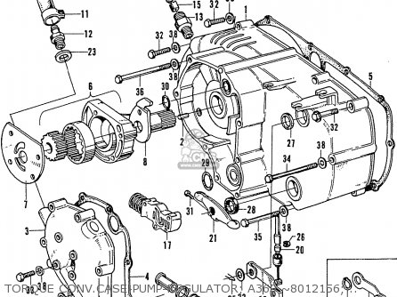 Honda A360 Automatic parts list partsmanual partsfiche