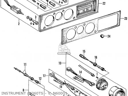 Honda A600 AUTOMATIC parts lists and schematics