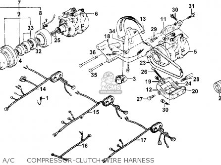 Honda Accord 1976 3dr Std (ka) parts list partsmanual