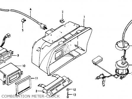 Honda ACCORD 1977 3DR STD (KH,KA,KL) parts lists and