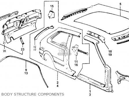 Honda Accord 1978 3dr Lx (kh,ka,kl) parts list partsmanual