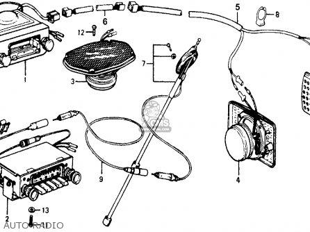 Honda ACCORD 1978 3DR STD (KH,KA,KL) parts lists and