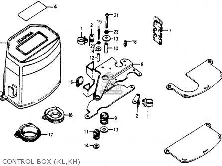 Honda Accord 1978 3dr Std (kh,ka,kl) parts list