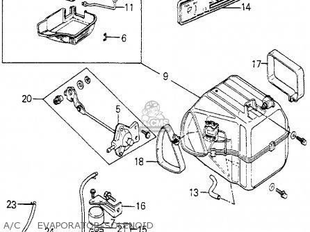 Honda Accord 1979 3dr Std (ka,kh,kl) parts list