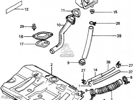 Honda ACCORD 1979 (Z) 4DR DX (KA,KH,KL) parts lists and