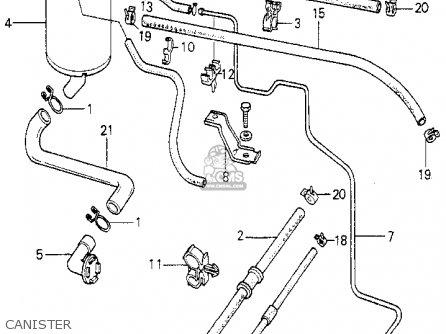 Honda ACCORD 1980 (A) 4DR DX (KL,KA,KH) parts lists and