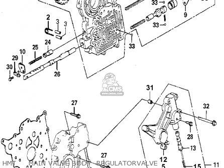 Honda Accord 1980 (a) 4dr Dx (kl,ka,kh) parts list