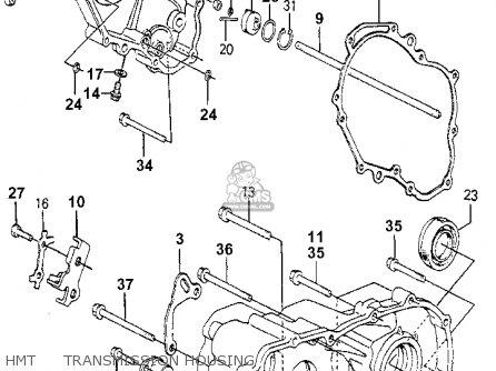 Honda Accord 1981 4dr Dx (ka,kh,kl) parts list partsmanual