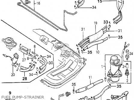 Honda Accord 1981 (b) 3dr Dx (ka,kh,kl) parts list