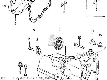 Honda Accord 1981 (b) 4dr Se (ka,kh,kl) parts list