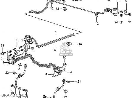 Honda Accord 1982 4dr Dx (kl,ka,kh) parts list partsmanual