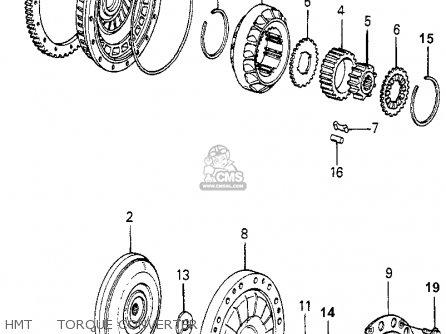 Honda Accord 1982 (c) 4dr Dx (kl,ka,kh) parts list