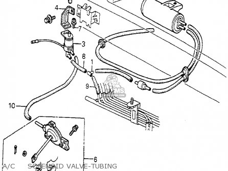 Honda Accord 1983 3dr Lx (kl,ka,kh) parts list partsmanual