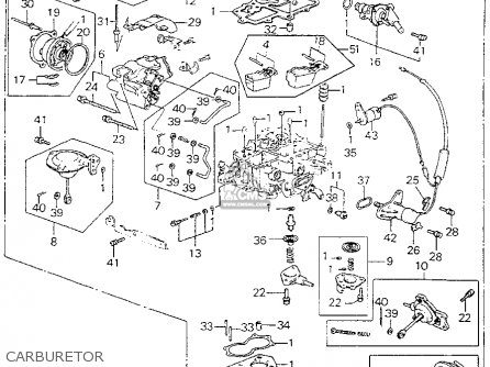 Honda Accord Купе Карбюратор 1992-1994Г В Руководство К