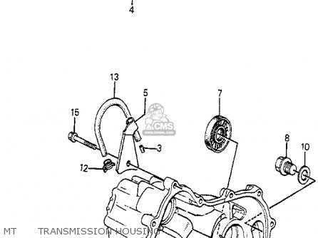 Honda Accord 1984 4dr Std (ka) parts list partsmanual