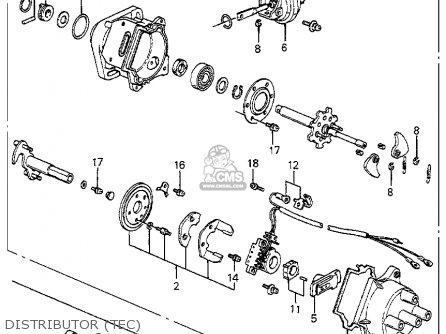 Honda ACCORD 1984 (E) 4DR LX (KA) parts lists and schematics