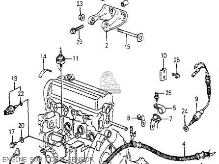 Honda Accord 1985 3dr Lx (ka) parts list partsmanual