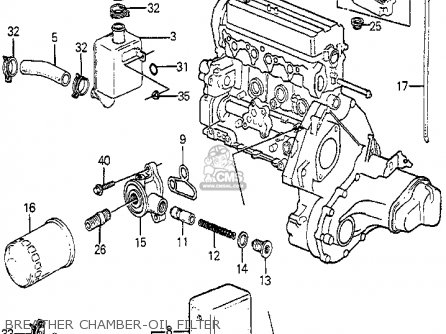 Honda ACCORD 1985 (F) 4DR SEI (KA) parts lists and schematics