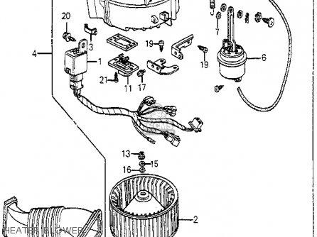 Honda Accord Heater Core Diagram Honda Accord Fan Belt