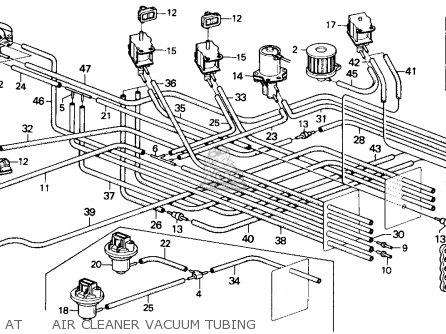 Honda Accord 1986 4dr Lx (ka,kl) parts list partsmanual