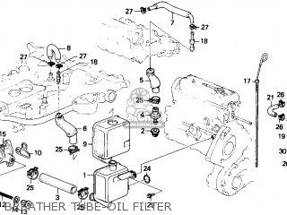 Honda Accord 1986 (g) 4dr Dx (ka) parts list partsmanual