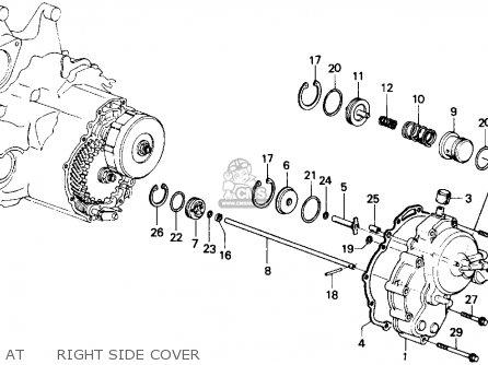 Honda ACCORD 1986 (G) 4DR LX (KA,KL) parts lists and