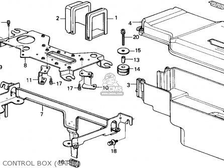 Honda Accord 1986 (g) 4dr Lx (ka,kl) parts list