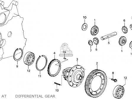 Honda Accord 1987 3dr Lxi Non-passive (ka) parts list