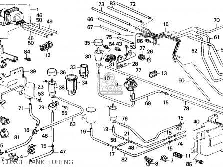 Honda Accord 1987 (h) 4dr Lx (ka,kl) parts list