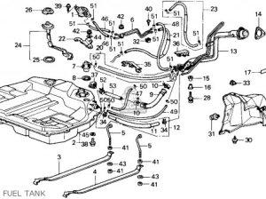Honda Accord 1987 (h) 4dr Lxi (ka) parts list partsmanual partsfiche