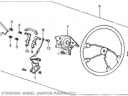 Honda ACCORD 1987 (H) 4DR LXI (KA,KL) parts lists and