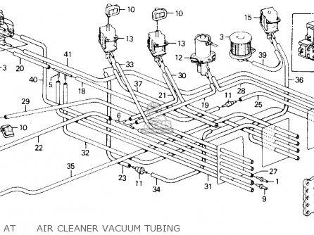 Honda Accord 1988 2dr Dx (ka,kl) parts list partsmanual