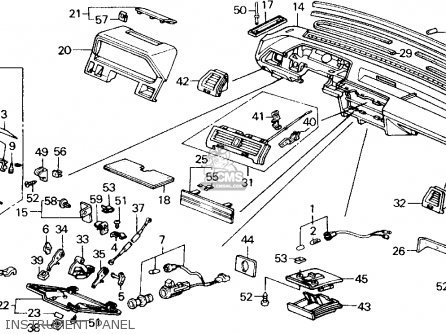 Honda Accord 1988 2dr Lxi (ka,kl) parts list partsmanual
