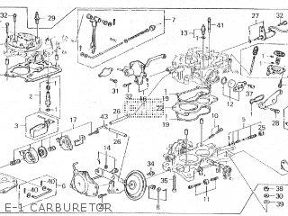 Honda ACCORD 1988 4DOOR SEDAN parts lists and schematics