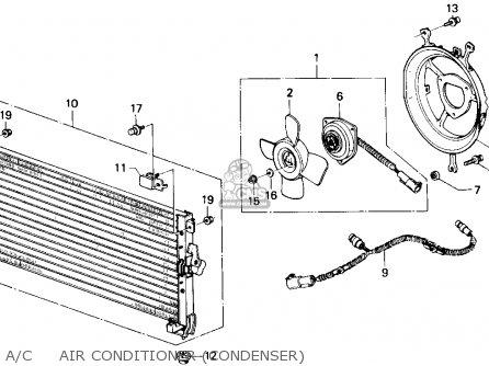 Honda Accord 1988 4dr Lxi (ka) parts list partsmanual