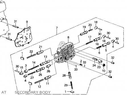 Honda Accord 1988 4dr Lxi (ka,kl) parts list partsmanual
