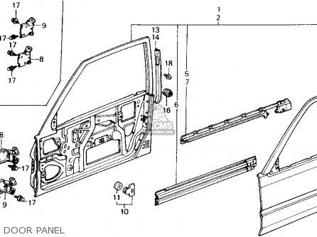 Honda Accord 1988 (j) 2dr Dx (ka,kl) parts list
