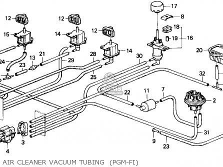 Honda Accord 1988 (j) 3dr Lxi (ka,kl) parts list