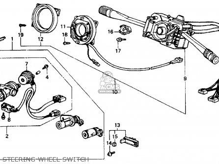 Honda ACCORD 1988 (J) 4DR DX (KA) parts lists and schematics