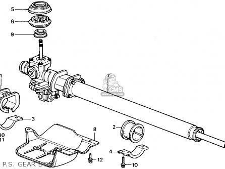Honda ACCORD 1988 (J) 4DR LX (KA) parts lists and schematics
