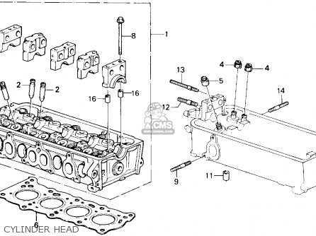 Honda Accord 1988 (j) 4dr Lxi (ka) parts list partsmanual