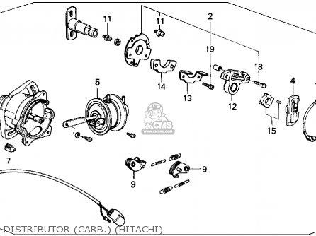 Honda Accord 1989 4dr Lx (ka,kl) parts list partsmanual