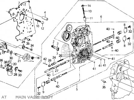 1989 Honda Accord Lxi Fuse Box Diagram. Honda. Auto Fuse